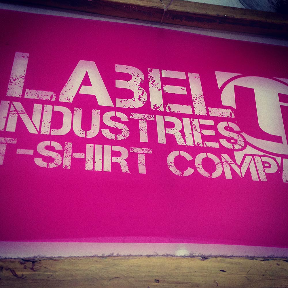 Label Industries Screen Printing